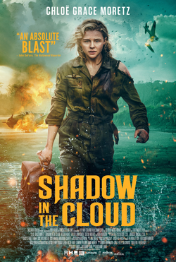 "Film poster of ""Shadow in the Cloud"""